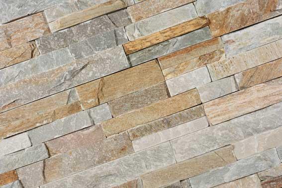 Stone Panels Golden Quartzite