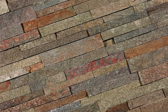 Stone Panels Rusty Quartzite